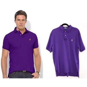 Polo Ralph Lauren Men's Purple Polo Shirt